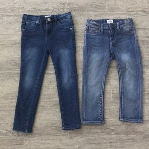 TWO Pairs of HUDSON Jeans size 4T